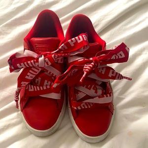 Puma basket classic red sneakers
